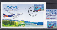 Nouvelle Caledonie 2020 Avions A320neo Airbus Airplanes FDC + stamp RARE