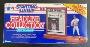 1991 Starting Lineup Headline Collection Jose Canseco Oakland Athletics A's