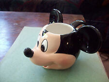DISNEY - MICKEY  MOUSE  FACE  DESIGN  COFFEE  MUG, CUP  UNUSUAL
