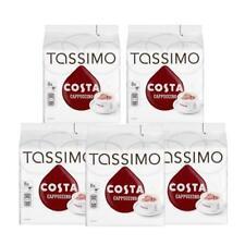 Tassimo COSTA Cappuccino Caffè 16 DISCHI,8 PORZIONI (confezione da 5,TOTALI 80