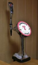 NEW Beer Tap Faucet Draft Single  Tower keg Lights Logo Tennent's