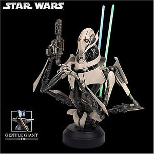 General Grievous Deluxe Bust Statue New Sealed Star Wars Gentle Giant Amricons