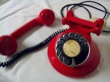 TELEFONO FISSO ROSSO VINTAGE MARCHETTI ROMA FAVOLOSO COME OGGETTO D'ARREDAMENTO