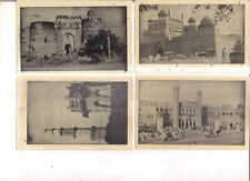 INDIA - RARE AND OLD PICTURE POST CARD B/W - DELHI  - 14 IN 1 LOT