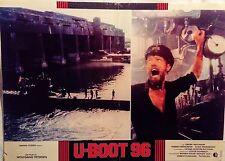 fotobusta lobby card U-Boot 96 Das Boot Wolfgang Petersen Jürgen Prochnow guerra