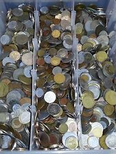 "10 Pounds of Foreign World Coins 10LBS + Some Silver ""PLEASE READ DESCRIPTION"""