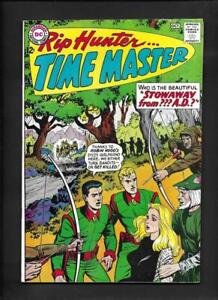 Rip Hunter Time Master 22 VF- 7.5 Hi-Res Scans