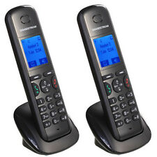 2 Pk New Grandstream DP710 Voip WIFI SIP IP DECT Handset Charger Telephone Phone