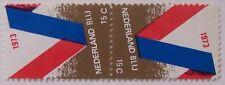 Stadspost Amsterdam - Keerdruk, tête-bêche 15C Nederland Blij 1973