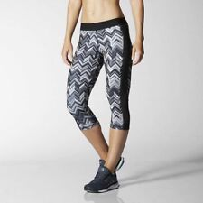 Adidas Capri Techfit Climalite 3/4 Printed Tights Mallas Running Training XS