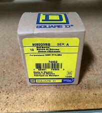 NEW SQUARE D 9080GM6B END BARRIER BOX OF 10