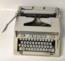 MACHINE A ECRIRE HERMES 3000 TYPEWRITER SUITCASE VINTAGE