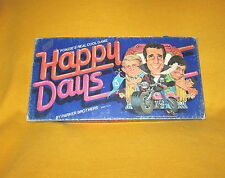 Vintage 1976 Happy Days TV Show Board Game,Cool  Fonzie, Ritchie, Potsy Jukebox