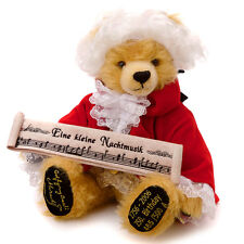 More details for wolfgang amadeus mozart teddy bear by hermann spielwaren - 19223-5