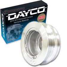 Dayco Engine Harmonic Balancer for 2010-2015 Chevrolet Camaro 6.2L V8 rm