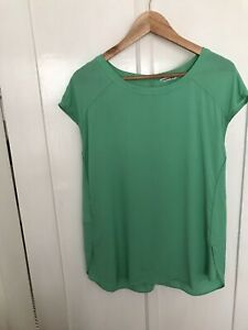 Country Road Cap Sleeve Top Size Small