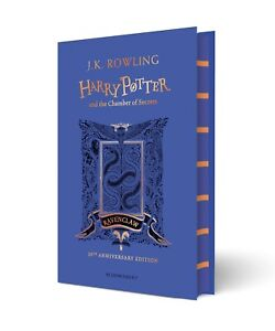 Harry Potter and the Chamber of Secrets - Ravenclaw Edition by J.K. Rowling NEW