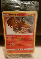 POKEMON SHINING LEGENDS HOLO PROMO CARD - SHINING HO-OH SM70 - SEALED MINT