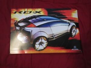 2002 2003 ACURA RDX RD-X MODEL INTRODUCTION CONCEPT VEHICLE PRESS KIT w CD-ROM