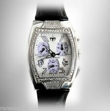 Technomarine diamonds chronograph silver dial women's watch