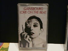 K7 GAINSBOURG Love on the beat 8228494