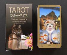 Cat-A-Vasya Cat Mayhem Tarot Cards Deck Russia by Vladimir Strannikov SEALED!