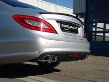 Mercedes Benz CLS 218 AMG Carbon Kohlefaser  Heckblende Diffusor