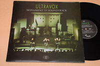 ULTRAVOX LP MONUMENT THE SOUNDTRACK 1°ST ORIG ITALY 1983 AUDIOFILI EX