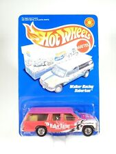 2000 HOT WHEELS FULL GRID ** WALKER RACING SUBURBAN** RED #27246 REAL RIDERS NEW