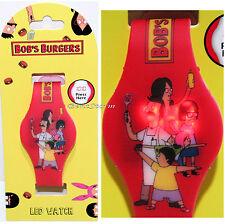 Bob's Burgers Belcher Family Louise Characters LED Digital Rubber Wrist Watch
