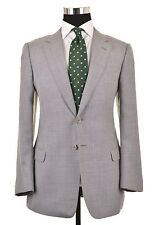 Armani Collezioni Sartorial Gray Woven Wool Blend Sport Coat Jacket Blazer 40 R