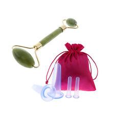 5pcs anti-cellulite en silicone massage ventouses ventouses tasses jade