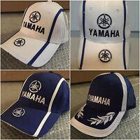 CAPPELLO YAMAHA CAPPELLINO BIANCO BLU CHAMPION HAT