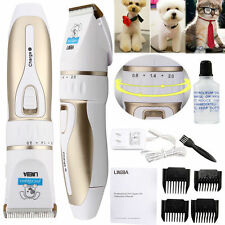 Professional Mute Pet Cat Dog Fur Hair Cordless Clipper/Trimmer/Shaver/Oil Kit
