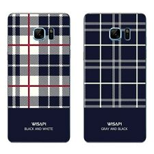 For Samsung Galaxy Note A5 A7 2016 Case Soft TPU Phone Back Cover Shell Plaid