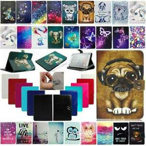 """For Samsung Galaxy Tab A7 A E S5e S6 7~10.5"""" Tablet Universal Leather Case Cover"""