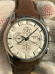 TISSOT T035627A CHRONOGRAPH AUTOMATIC MENS 45mm SAPPHIRE GLASS SWISS MADE