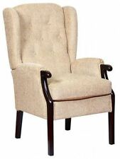 Queen Anne Style High Back Chair Armchairs