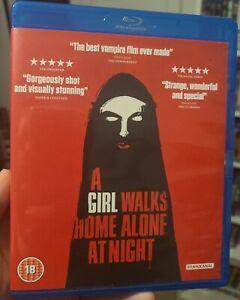 A Girl Walks Home Alone at Night Blu-ray rare