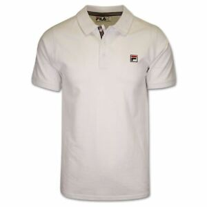 FILA Men's Solid F-Box S/S Polo T-Shirt (S23)
