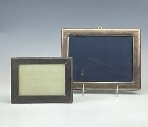 Lot 2 Richard Carr & Peru Sterling Silver 925 Photo Photograph Picture Frame MAB