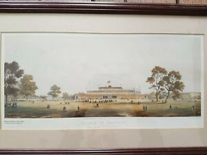 Palace Of Industry Framed Vintage Print Limited Edition. Crystal palace.