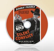 Silent Conflict (1948) DVD Classic Western Movie / Film William Boyd Rand Brooks
