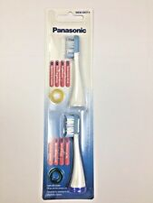 100% Panasonic Replacement Stain Care Toothbrush Head + Tongue Cleaner WEW0929
