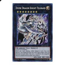 Yu-Gi-Oh! YuGiOh Divine Dragon Knight Felgrand - MP14-EN166 - Secret Rare Promo