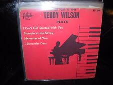 """TED WILSON plays ( jazz ) 7""""/45 picture sleeve ep RED VINYL"""