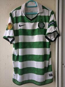 Rare Rennes - Celtic #22 Loovens Europa League match worn shirt , jersey 2011