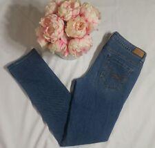 Aeropostale light Blue Wash Jeans Straight leg Size 8 Regular pants