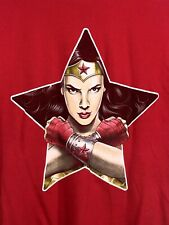 Wonder Woman Tee Fury T Shirt Size Mens Medium