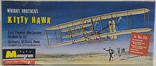 AVIATION : WRITGHT BROTHERS KITTY HAWK MODEL KIT MADE BY MONOGRAM